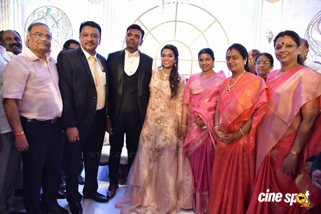 Dr SM Balaji Daughter Wedding Reception (8)