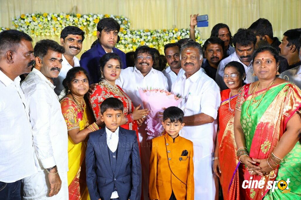 Tamil Selvan's Daughter Wedding Reception (66)