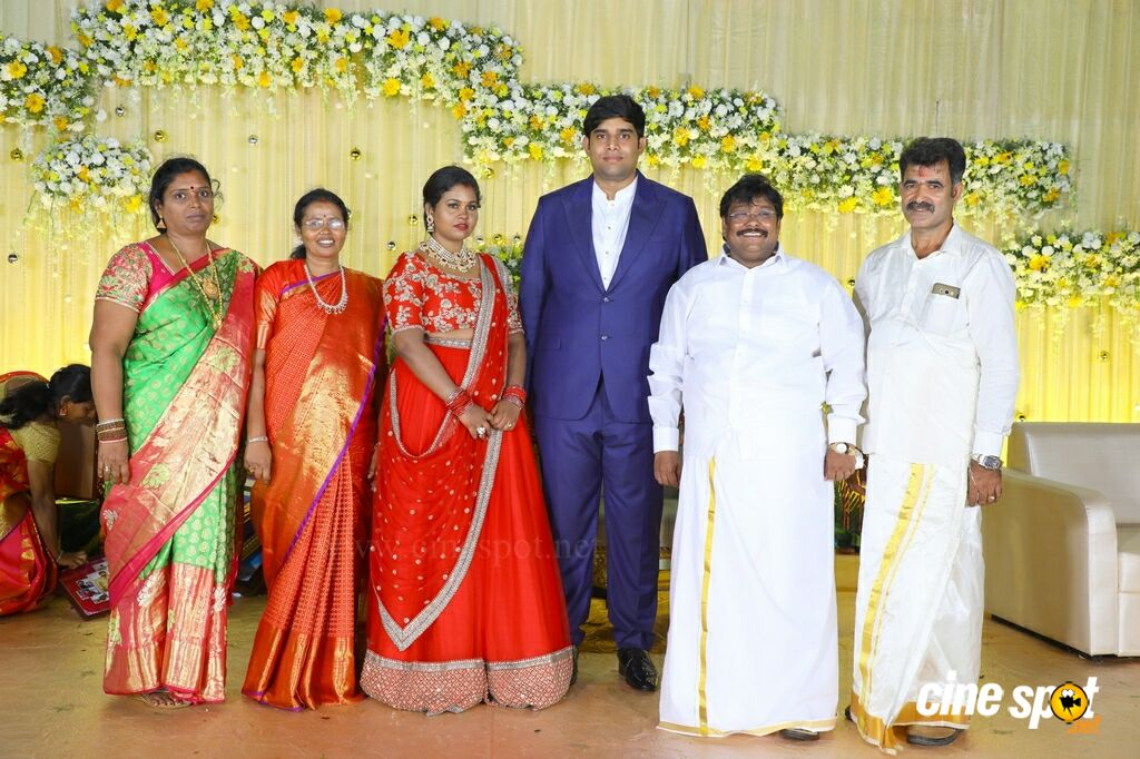 Tamil Selvan's Daughter Wedding Reception (74)