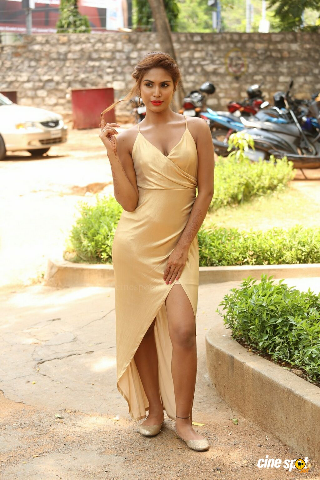 K Nishigandha at Captain Rana Prathap Audio Launch (12)