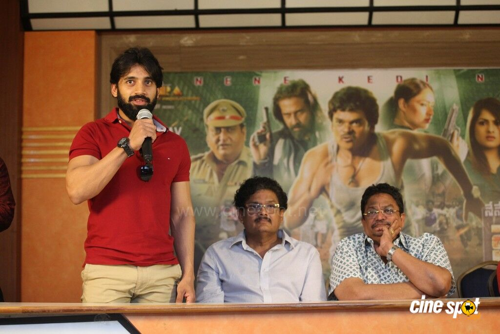 Nene Kedi No 1 Movie Press Meet (8)