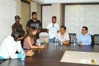 Guna 369 Movie Promotion In Raghu Engineering College (1)