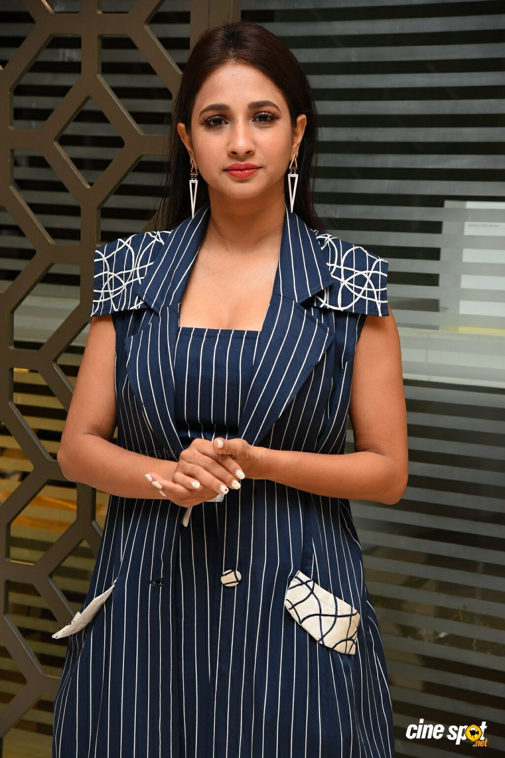 Manvitha Harish at SIIMA Awards 2019 Curtain Raiser (29)