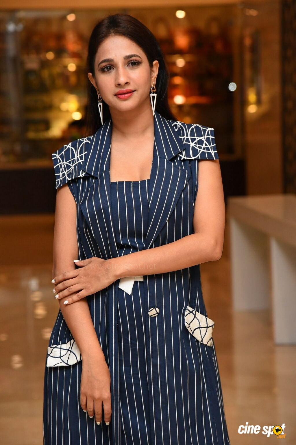 Manvitha Harish at SIIMA Awards 2019 Curtain Raiser (5)