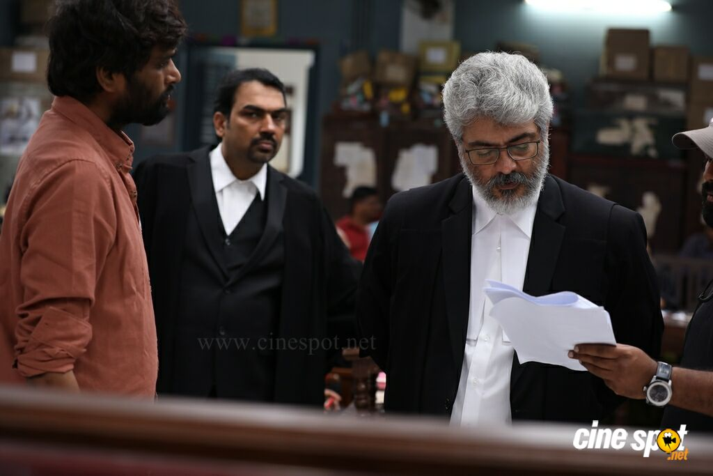 Nerkonda Paarvai On Location (2)
