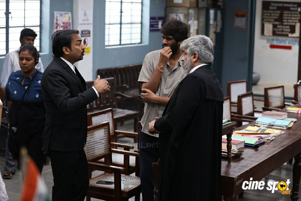 Nerkonda Paarvai On Location (3)
