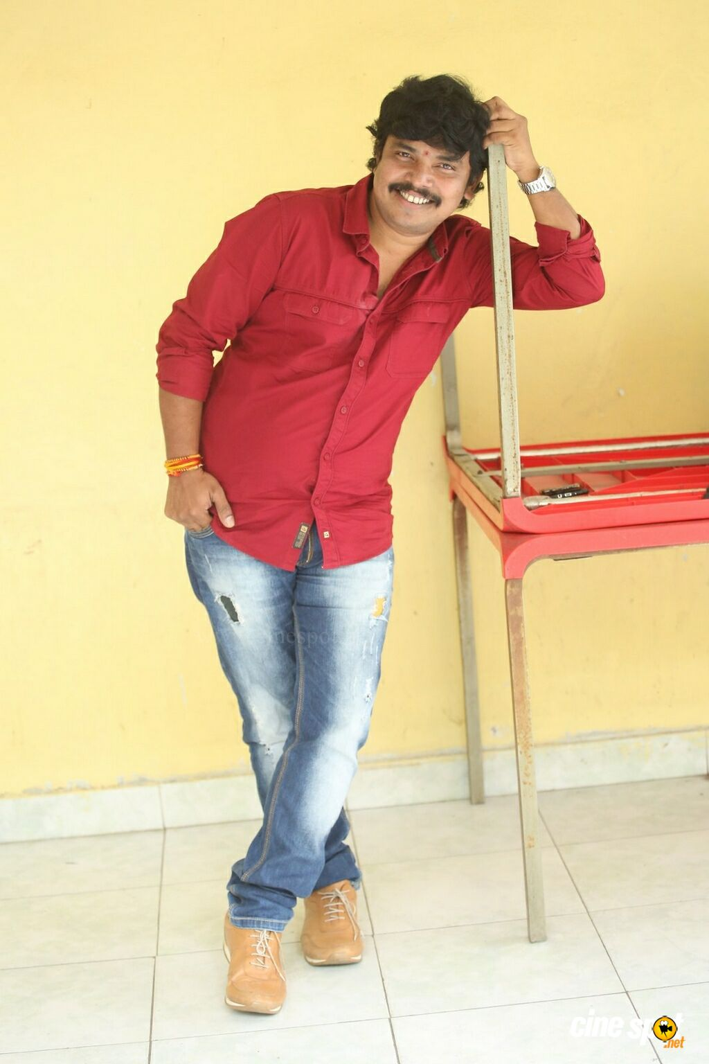 Kobbari Matta Hero Sampoornesh Babu Interview Photos (20)
