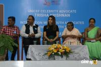 Trisha Calls For End Violence Against Children Photos