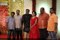 Senthil Krishna Marriage Reception Photos