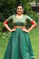 Indhuja at Magamuni Movie Press Meet (1)