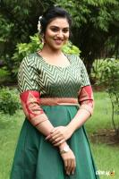 Indhuja at Magamuni Movie Press Meet (2)