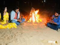 Ninnu Thalachi Team Campfire In Vizag Beach Photos
