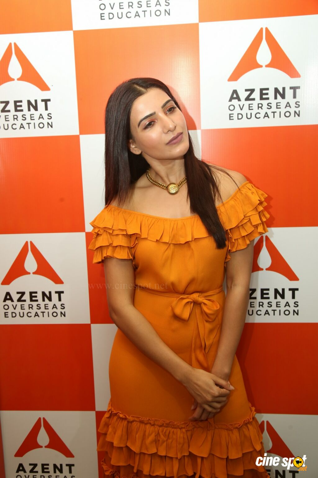 Samantha at  Azent Overseas Education Launch (3)