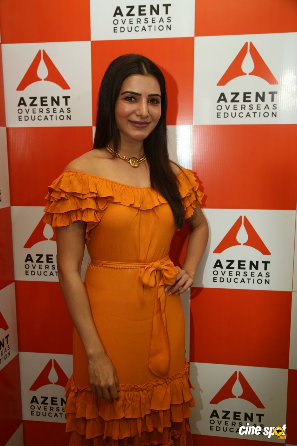 Samantha at  Azent Overseas Education Launch (9)