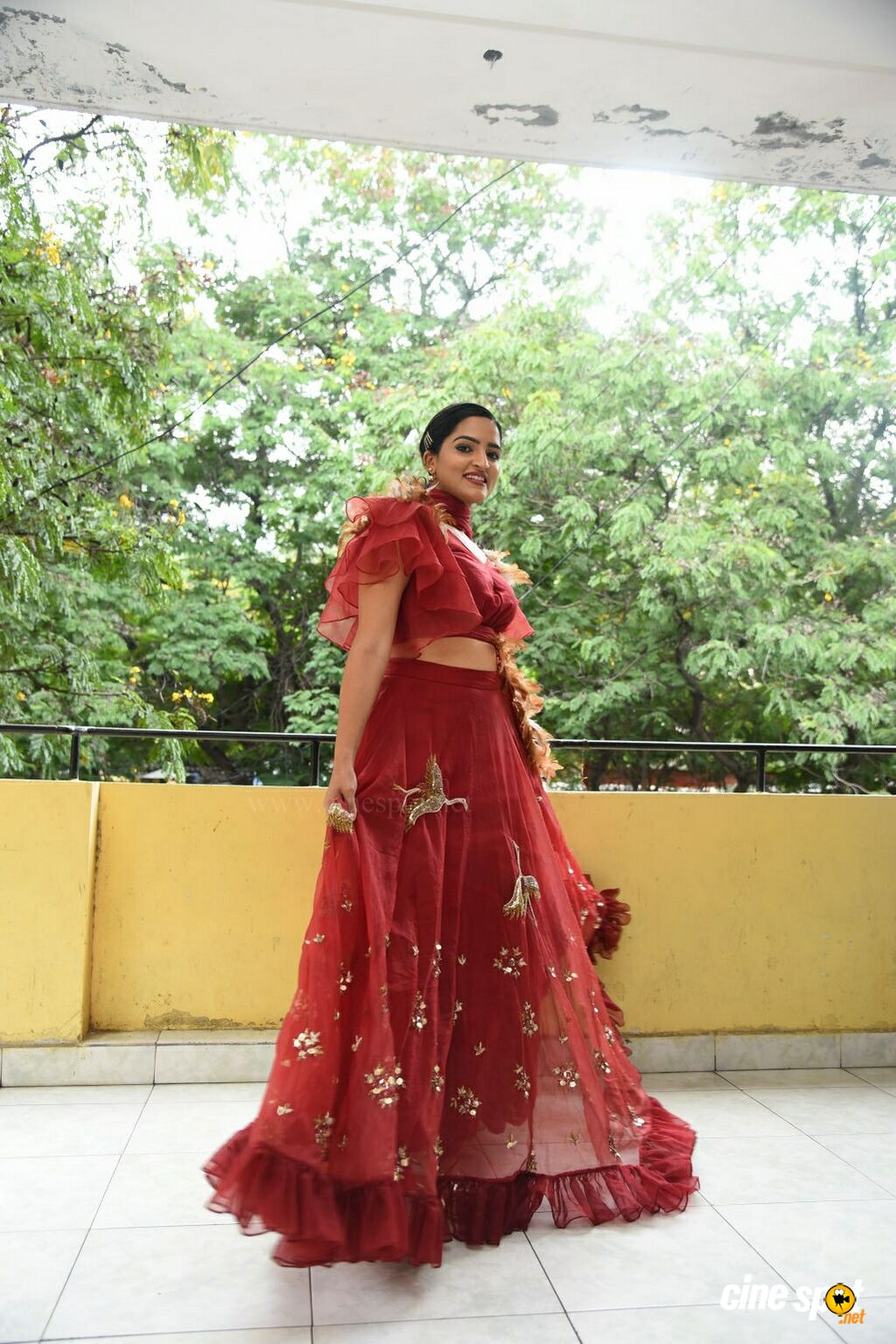 Sukrutha Wagle at Rama Chakkani Seetha Press Meet (11)