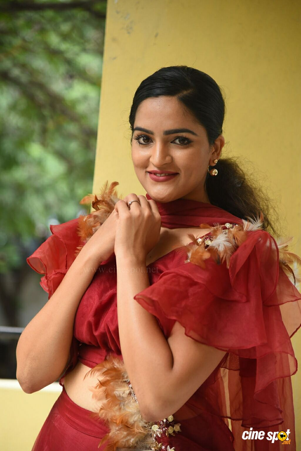 Sukrutha Wagle at Rama Chakkani Seetha Press Meet (32)