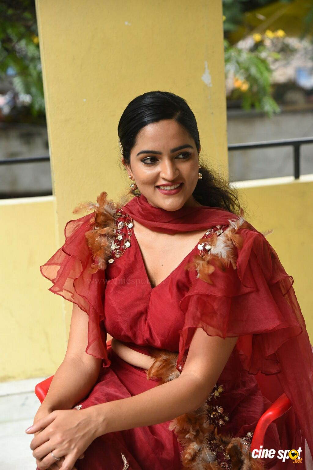 Sukrutha Wagle at Rama Chakkani Seetha Press Meet (41)