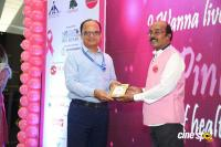 Namma Chennai Airport Turns Pink - PINKTOBER 2019 - Breast Cancer Free India - Event (17)