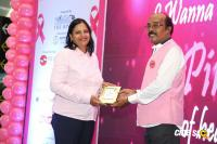 Namma Chennai Airport Turns Pink - PINKTOBER 2019 - Breast Cancer Free India - Event (19)