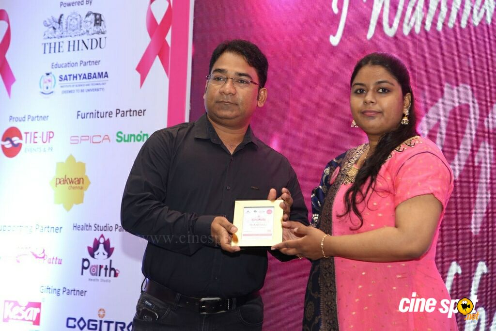 Namma Chennai Airport Turns Pink - PINKTOBER 2019 - Breast Cancer Free India - Event (23)