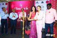 Namma Chennai Airport Turns Pink - PINKTOBER 2019 - Breast Cancer Free India - Event (27)