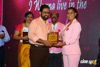 Namma Chennai Airport Turns Pink - PINKTOBER 2019 - Breast Cancer Free India - Event (30)