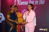 Namma Chennai Airport Turns Pink - PINKTOBER 2019 - Breast Cancer Free India - Event (31)