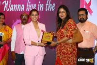 Namma Chennai Airport Turns Pink - PINKTOBER 2019 - Breast Cancer Free India - Event (33)