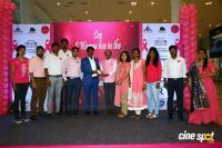 Namma Chennai Airport Turns Pink - PINKTOBER 2019 - Breast Cancer Free India - Event (34)