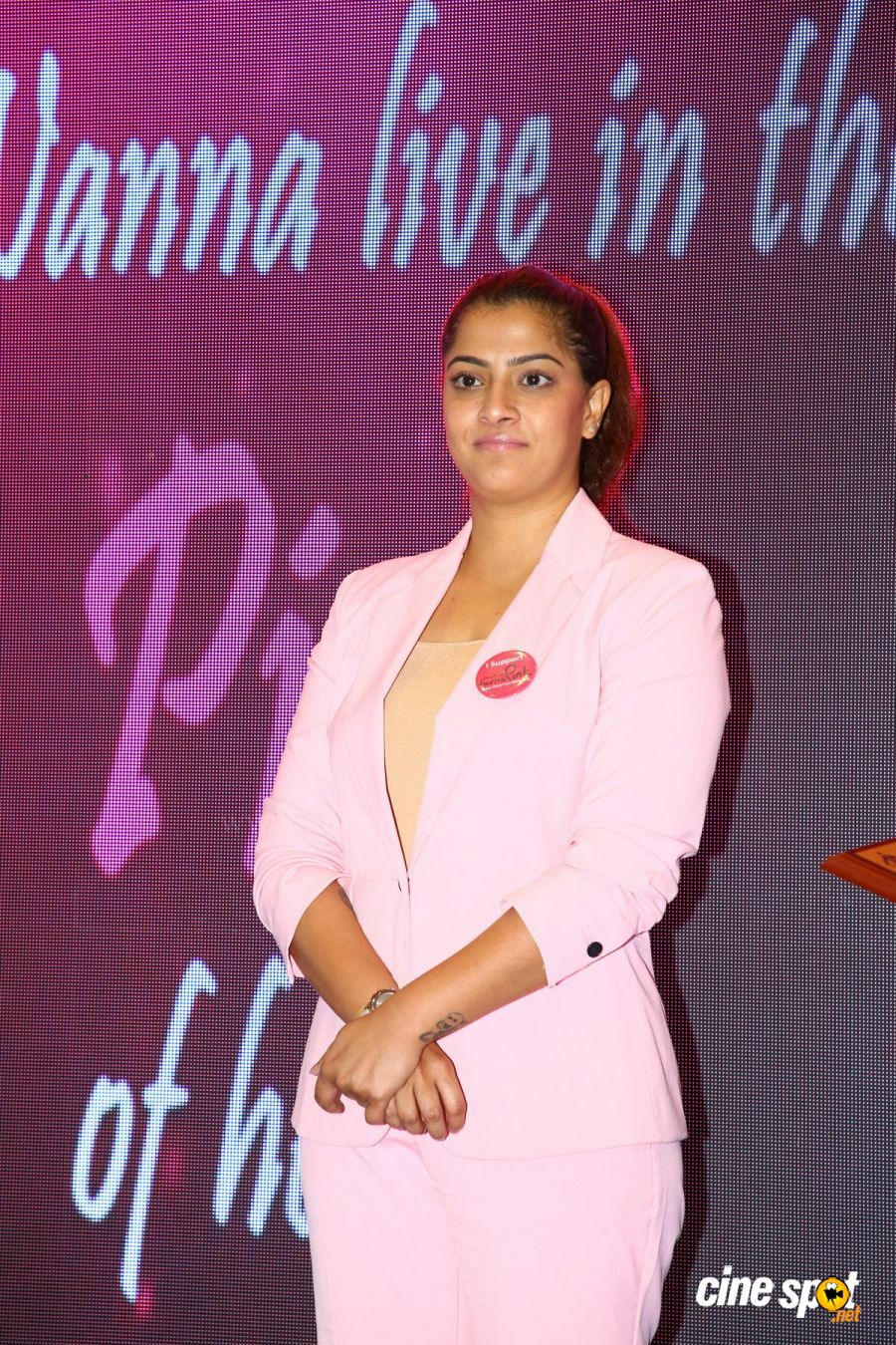 Namma Chennai Airport Turns Pink - PINKTOBER 2019 - Breast Cancer Free India - Event (35)
