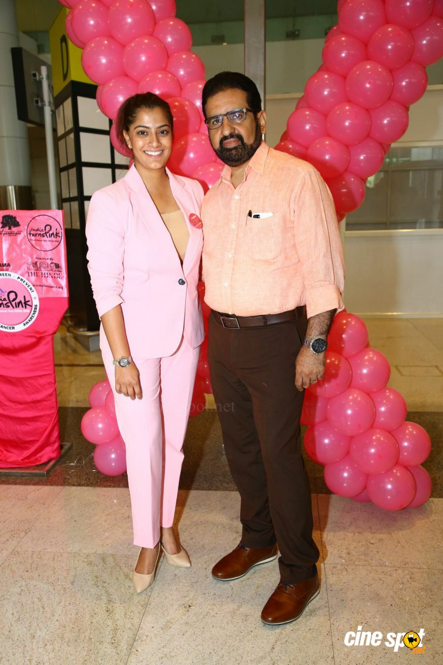 Namma Chennai Airport Turns Pink - PINKTOBER 2019 - Breast Cancer Free India - Event (41)