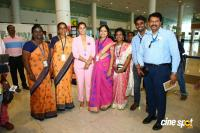 Namma Chennai Airport Turns Pink - PINKTOBER 2019 - Breast Cancer Free India - Event (42)