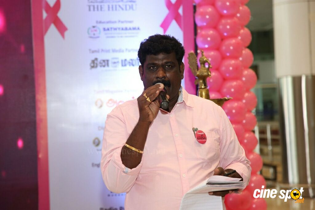 Namma Chennai Airport Turns Pink - PINKTOBER 2019 - Breast Cancer Free India - Event (8)