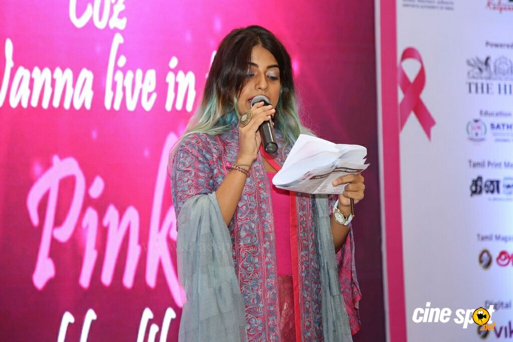 Namma Chennai Airport Turns Pink - PINKTOBER 2019 - Breast Cancer Free India - Event (9)
