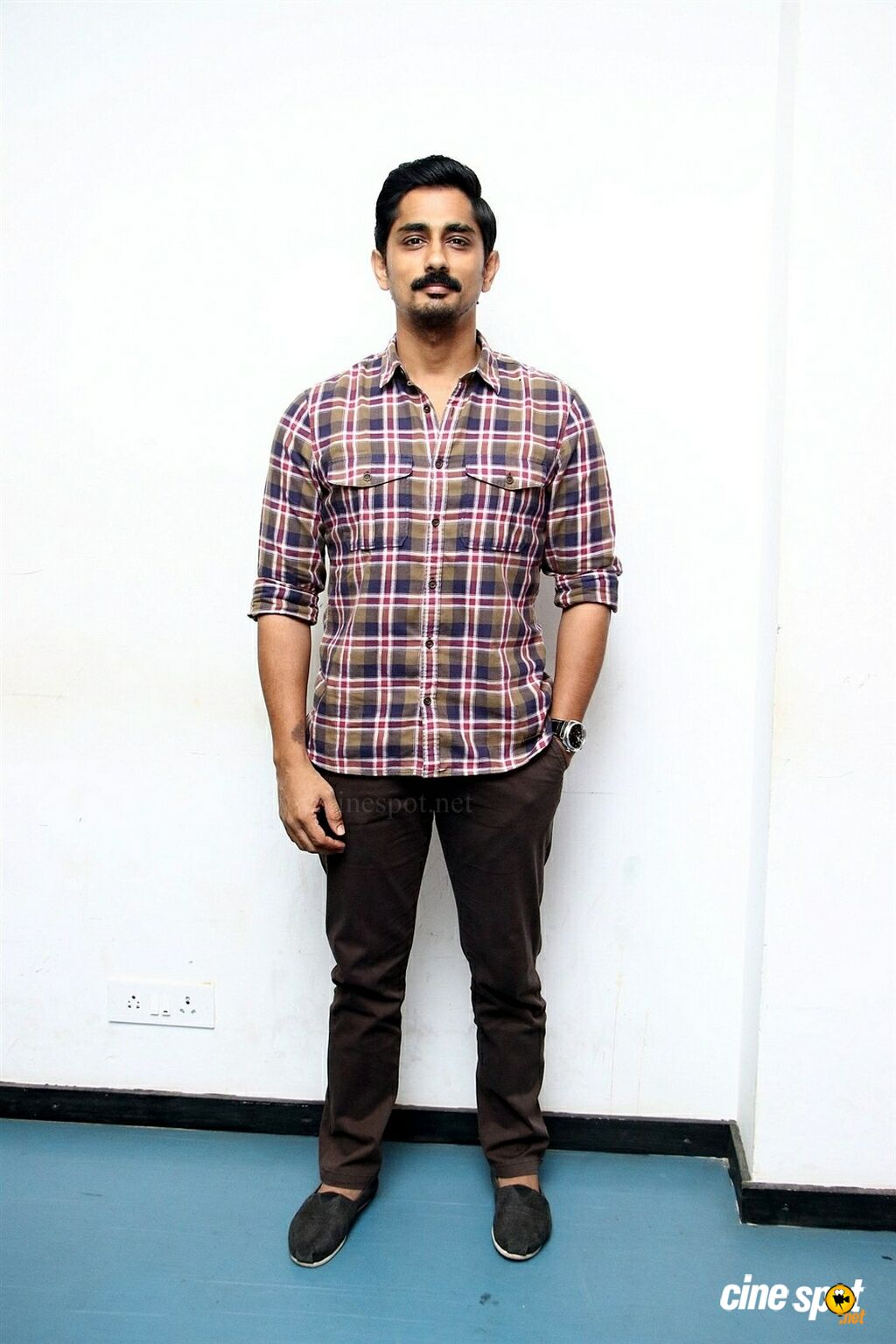 Siddharth at Aruvam Movie Press Meet (1)