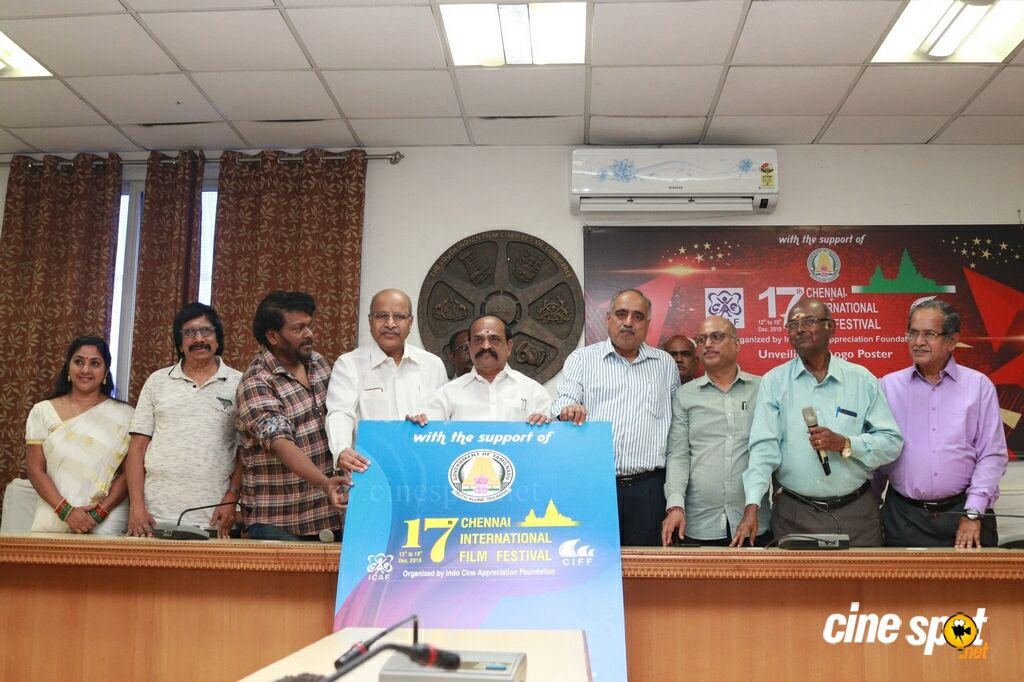 17th Chennai International Film Festival Poster Launch (2)