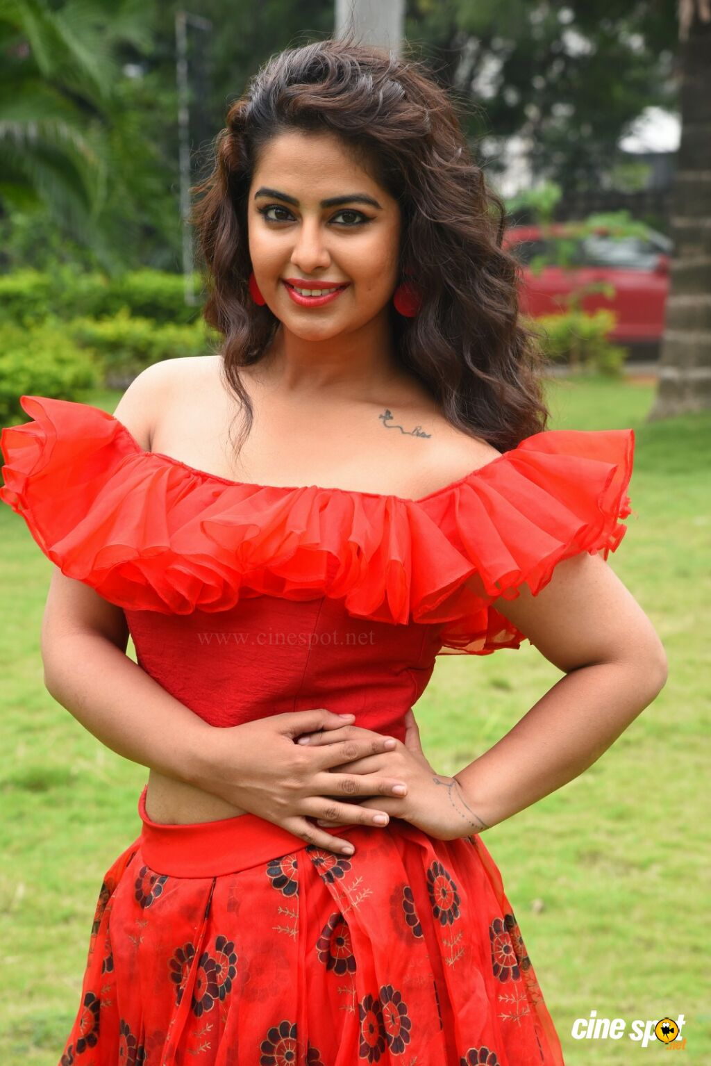Avika Gor at Raju Gari Gadhi 3 Pre Release Press Meet (17)