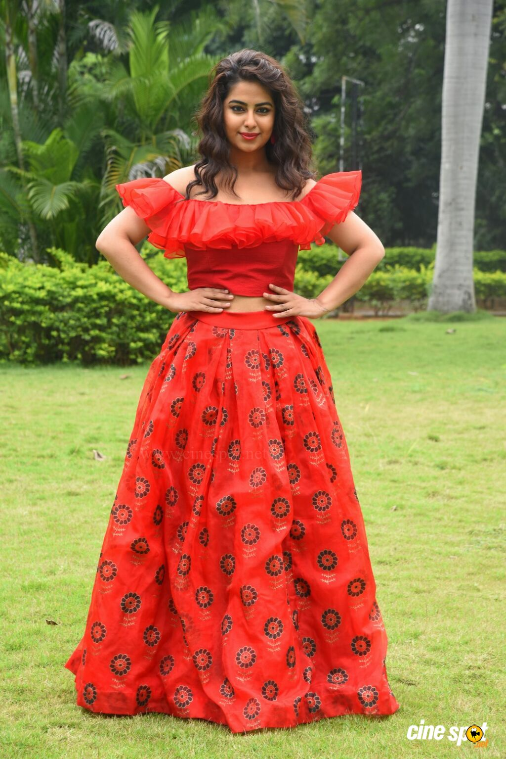 Avika Gor at Raju Gari Gadhi 3 Pre Release Press Meet (5)