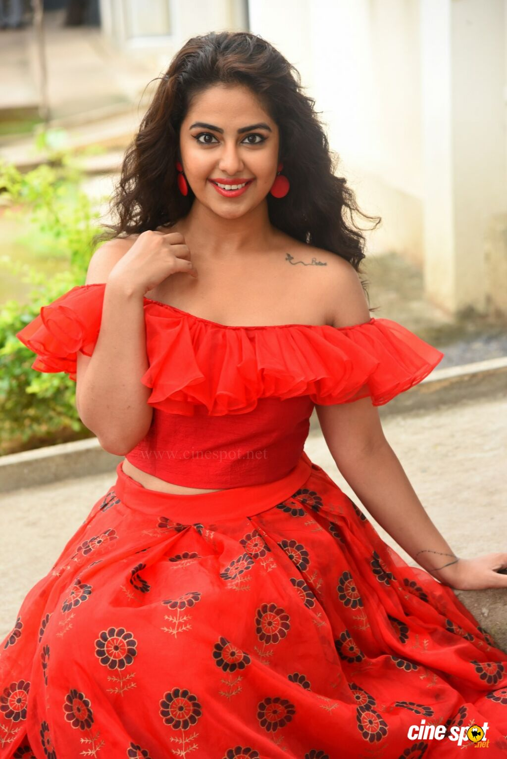 Avika Gor at Raju Gari Gadhi 3 Pre Release Press Meet (54)