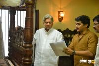 Tholu Bommalata Movie Working Stills