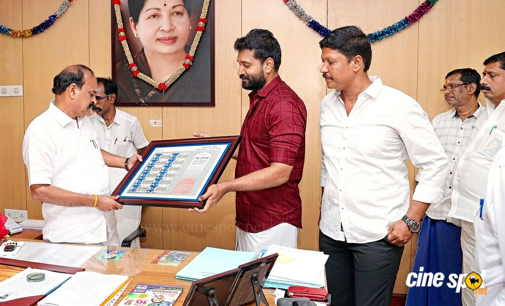 Minister Kadambur Raju Released Stamp of Jaiwanth (3)