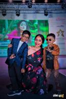 Actress Abirami posing along with the children on the ramp