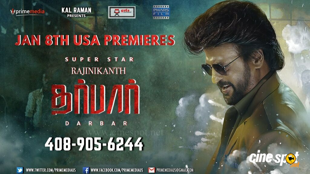 Darbar Release Date Posters (3)