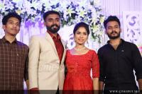 Actress Darshana Das Marriage Reception (35)