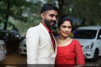Actress Darshana Das Marriage Reception (7)
