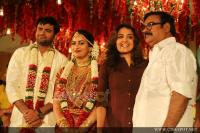 Maniyanpilla Raju Son Sachin Marriage Photos