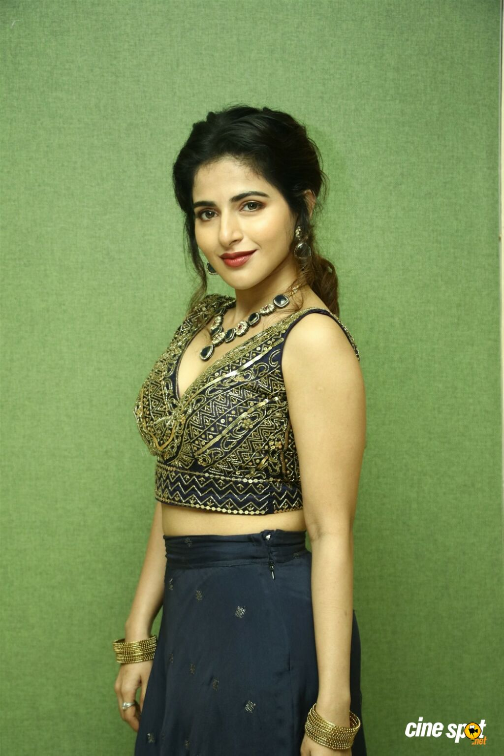Iswarya Menon at Naan Sirithal Movie Audio Launch  (3)