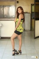 Sravani Nikki at Life Anubhavinchu Raja Success Meet (1)