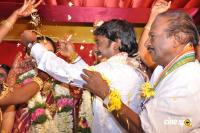 Vijay Vasanth of Naadodigal Marriage wedding stills