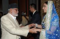 manishakoiralasweddingreceptionsushilkoirala